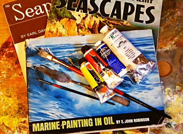 Sea painting tip