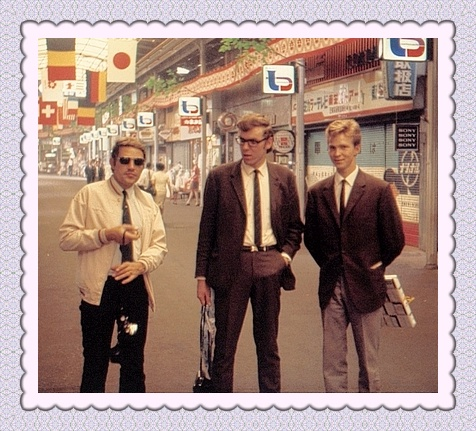 Me to the right in Japan 1970