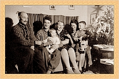 My                             first Christmas 1946